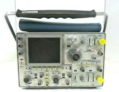 Tektronix 485 Oscilloscope 2-channel 350mhz As Is Free Shipping