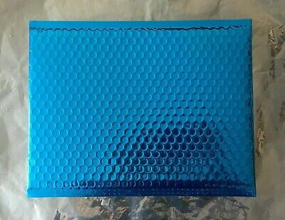 9 X BLUE BUBBLE WRAP ENVELOPES / 310MM X 230MM
