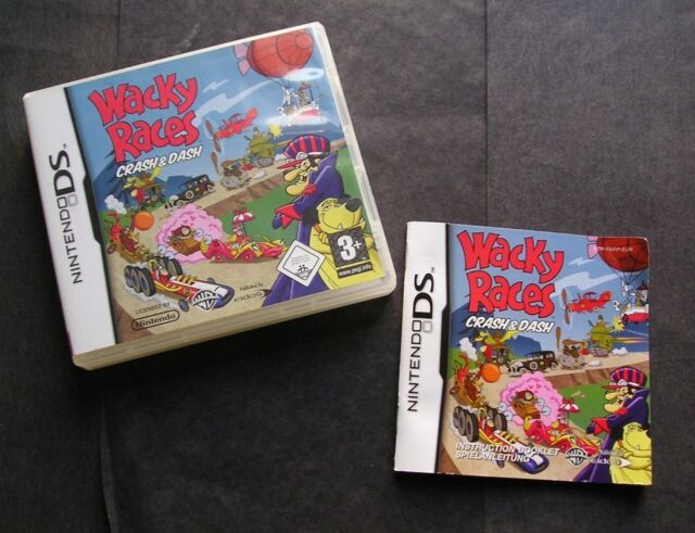 wacky races crash dash nintendo ds game manual ebay rh ebay co uk diary girl nintendo ds game manual nintendo ds game manuals download