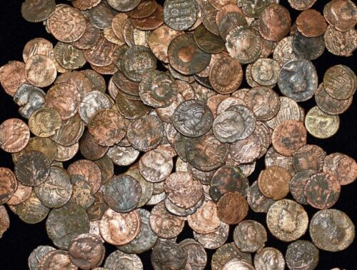 LOT OF 3 IMPERIAL ROMAN COINS IN EACH BATCH  - VG TO VF CONDITION - GREAT DEAL!!