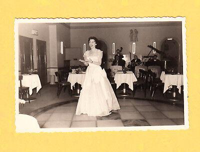 1958 Maria Martini im Tivoli   Dez. 1958 - Echtphoto