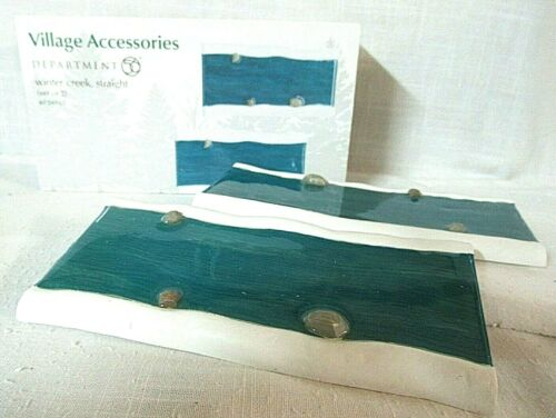 Department 56 Accessory Set of 2  Straight Winter Creek  # 4034861