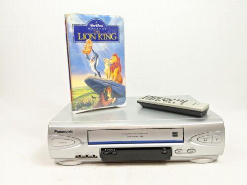 Panasonic PV-V4524S VCR Player Recorder VHS HiFi Stereo w/ Remote - FREE SHIP!!!