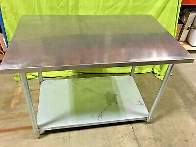 Green World 48 X 30 Stainless Steel Work Table Prep Table Tsw-3048s