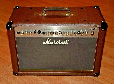 Guitar Amplifier, Marshall AS50D, Acoustic Guitar Amp, 2 Channel