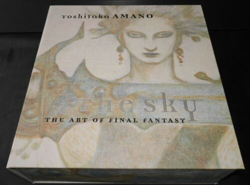 "JAPAN Yoshitaka Amano ""The Sky"" The Art Of Final Fantasy (5books 704pages)"