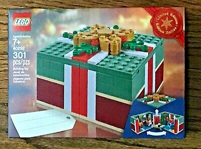 Lego 40292 Buildable Holiday Present Christmas Gift 301pcs. Free GIFT WRAP