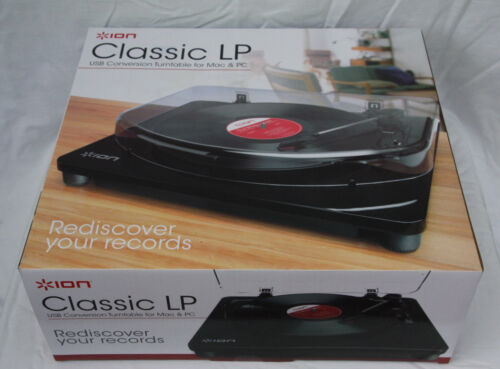 New+ION+Classic+LP+USB+Conversion+Turntable+for+Mac+%26+PC
