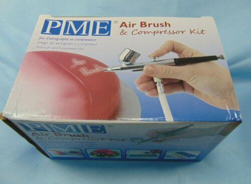 PME Airbrush & Compressor Kit Cake Decorating Nozzle Diameter .3 mm USA Voltage
