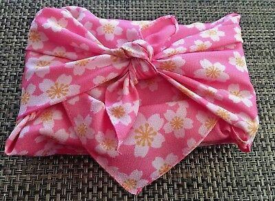 Quality FUROSHIKI Japanese Gift Wraps / Traditional Culture & Eco minded Sakura