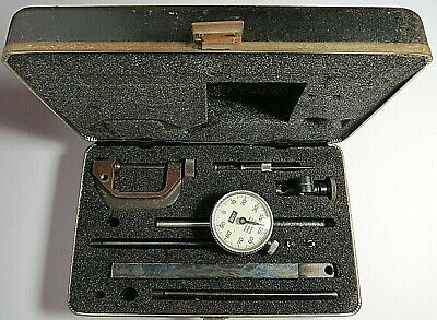 Lufkin Model 299 Dial Test Indicator Grad. .001 Range .200