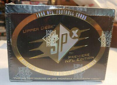1996 UPPER DECK SPX FOOTBALL SEALED HOBBY BOX POSSIBLE MARINO or MONTANA AUTO