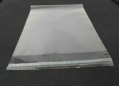 Clear Cello Bags 6 X 9 12 Resealable Cellophane Opp Poly Sleeves Packing Mask