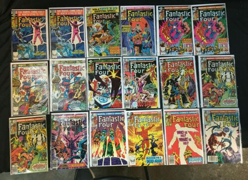 FANTASTIC FOUR 144 COMICS LOT VG-NM COMICS JOHN BYRNE,  RYAN, HICKMAN, JIM LEE