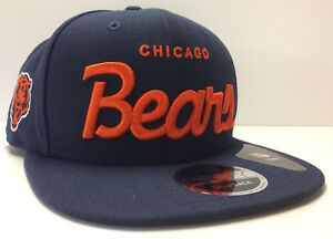 Chicago Bears New Era 9FIFTY Snapback Cap Hat Christmas Vacation Historic  Script 738da7953