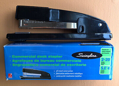 New Swingline Desk Stapler Commercial 20 Sheets Capacity Black 44401