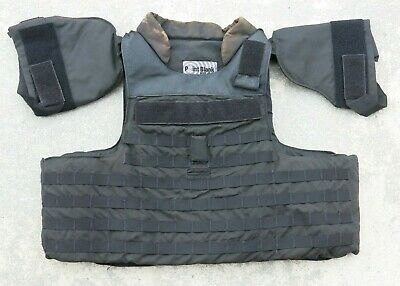 Point Blank TACTICAL Level IIIA Body Armor Bullet Proof Vest LARGE TALL Large Bullet Tip
