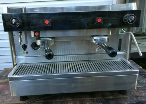 2 Group Handmade Stainless Steel Commercial Espresso Cappuccino Machine