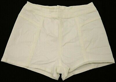 New PacSun Womens Bullhead White Denim Stretch Back Zip Short Shorts Sz 0-7
