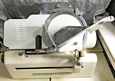 Globe Slicing Machine Model 150 Vintage Gravity Feed Meat Slicer