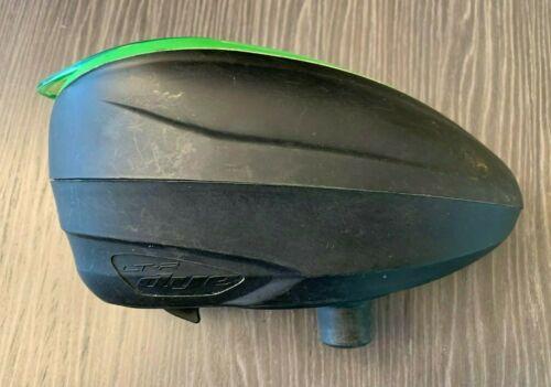 Dye LTR Rotor Electronic Paintball Hopper Loader - Black/Green - Empire Virtue