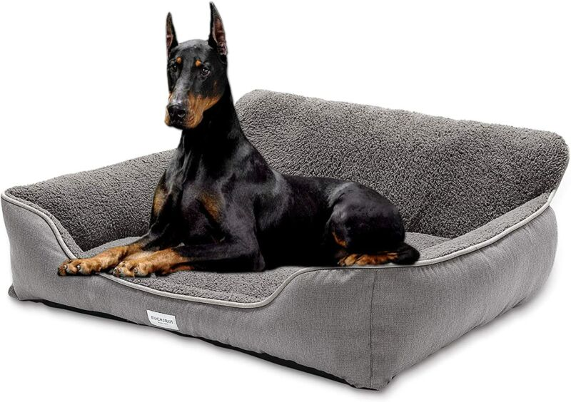 Sofa-Style Dog Bed Washable Breathable Small Medium Large Warming Winter