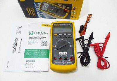 2017 Fluke 87v Nist Industrial True-rms Multimeter Includes Current Calibrations