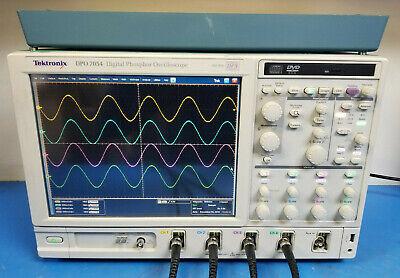 Tektronix Dpo7054 Digital Phosphor Oscilloscope 500mhz 20gss W Ssd Dje