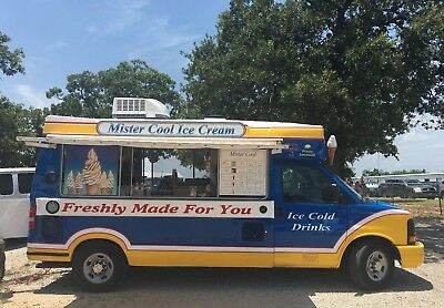 Ice Cream Truck 2012 Chevrolet Whitby Van Carpiginai Soft Serve Food Truck