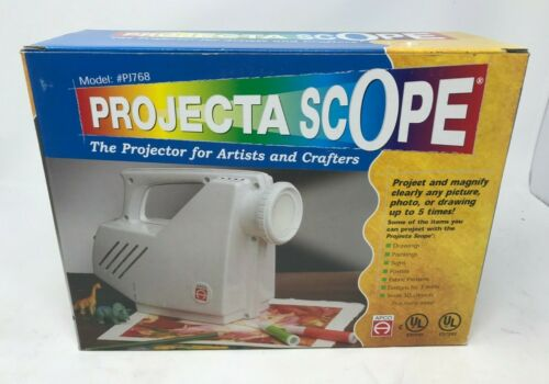 Apco Projecta Scope #PJ768 Opaque Tracing Projector For Artists & Crafters WORKS