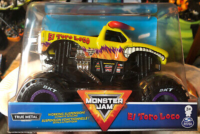 SPIN MASTER MONSTER JAM EL TORO LOKO 2020 EDITION 1:24 SCALE YELLOW NEW IN BOX
