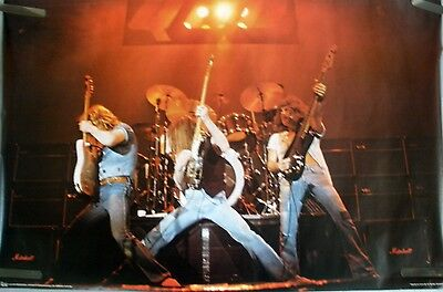 RARE STATUS QUO LIVE STAGE 1979 VINTAGE ORIGINAL MUSIC HEAD SHOP POSTER
