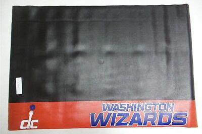 Fan Mats FAN-14224 Washington Wizards NBA Black Vinyl Grill Mat - 26 x 42 Inch