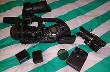Canon XL H1a 3CCD Camcorder plus a JVC GC-PX100 Manly Manly Area Preview