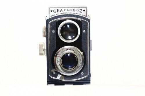 Graflex 22 Reflex 120 6x6 TLR Camera Model 200 - Graftar 85mm F3.5 w/ Case