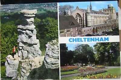 England Cheltenham Devil's Chimney Ladies' College Pittville Park - posted 1971
