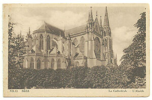 POSTAL-DE-SEES-LA-CATHEDRALE-L-039-ABSIDE