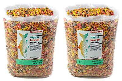 Mixed pellets for carp & coarse fishing 5mm 10kg