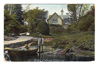 Dinis Cottage - Killarney Photo Postcard 1903