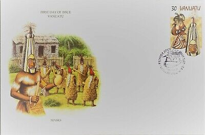Nice lot of 2 clean unaddressed FDC's from Vanuatu - check out scans Lot906