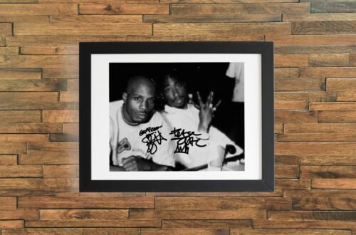 DMX Autographed Signed Reprint 8x10 Photo Poster Print Tupac