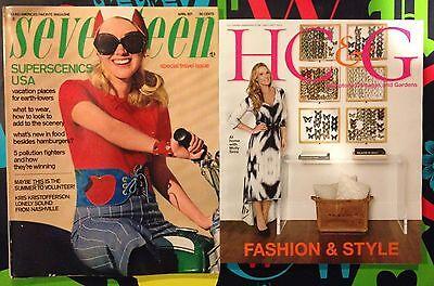 Seventeen magazine 1970's Fashion Beauty Ingenue W 70's Co-Ed Teen Ads