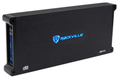 Rockville dB45 3200 Watt/1600w RMS 4 Channel Amplifier Car S