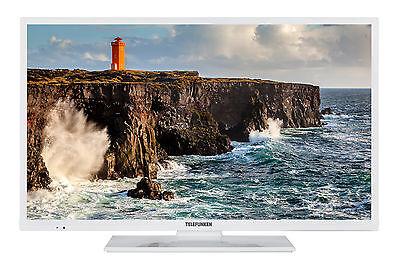 Telefunken XH32D101-W LED Fernseher 32 Zoll HDTV Triple-Tuner DVB-C/-T2/-S2 CI+ 32 Hdtv Tv