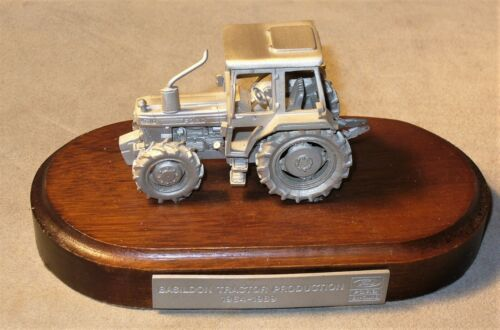 Vtg Limited Ford 4610 Pewter Tractor Model-Basildon Tractor Production 1964-1989