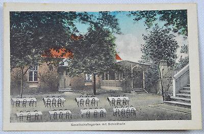 Anitk Postkarte Ansichtskarte Finsterwalde Schützenhaus ungelaufen SELTEN!! 1011