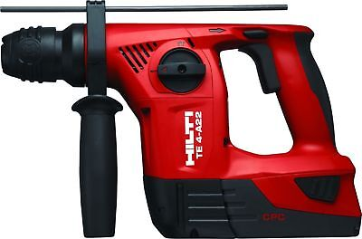 Hilti Te4-a22 Cpc 21.6-volt Cordless Rotary Drill W.2 Batteries And Charger New