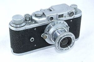 1948 FED-ZORKI Rangefinder Camera with Industar-22 1:3.5 50mm Lens - <span itemprop='availableAtOrFrom'>Europe, Polska</span> - 1948 FED-ZORKI Rangefinder Camera with Industar-22 1:3.5 50mm Lens - Europe, Polska