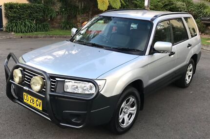 2006 Subaru Forester 4WD 1YR REGO 3Y WARRANTY BACKPACKERS BULLBAR