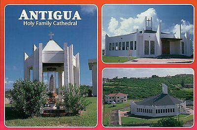 Holy Family R.C. Cathedral, Church, St. John's, Antigua, Caribbean --- Postcard